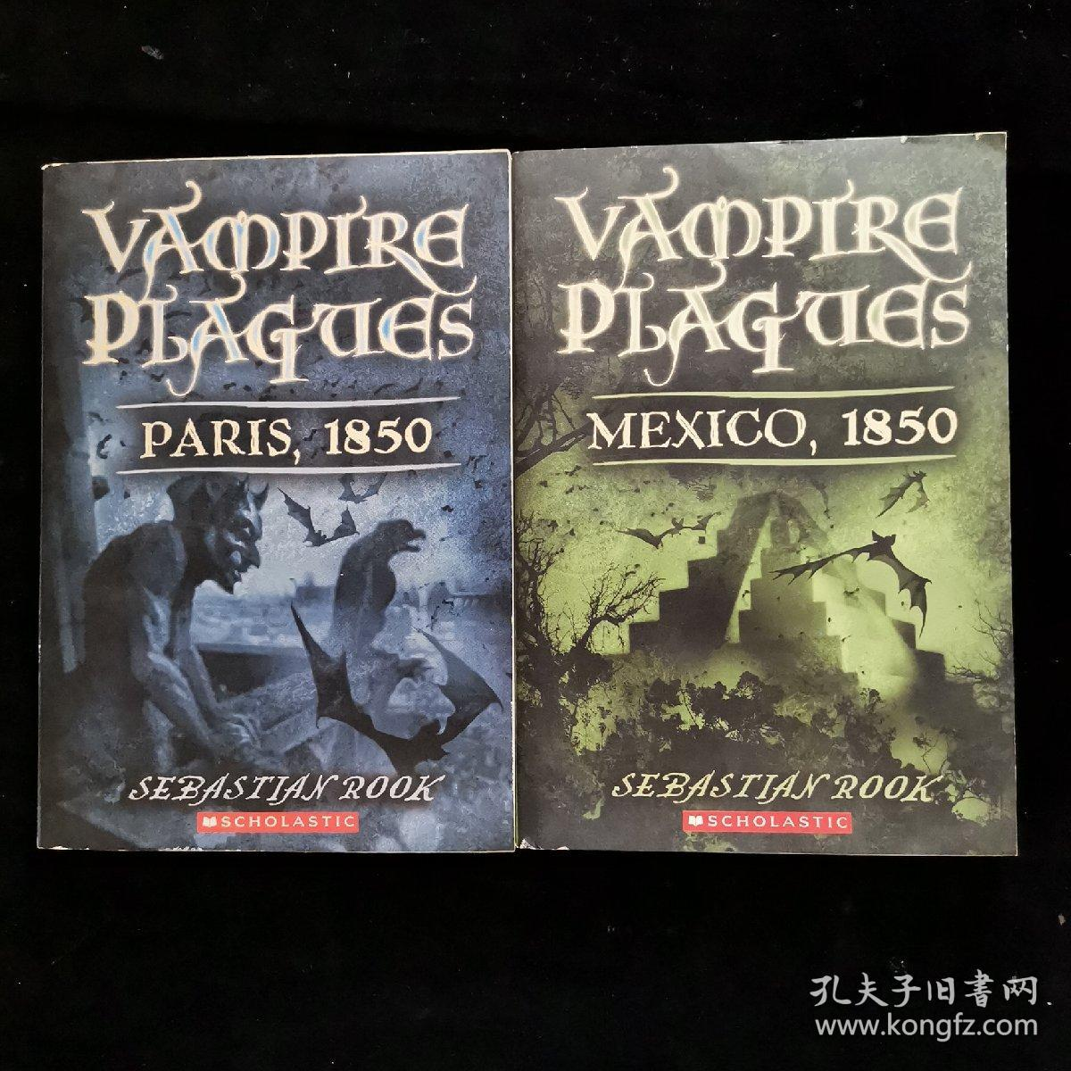 英文原版 VAMPIRE PLAGUES:MEXICO+PARIS 1850