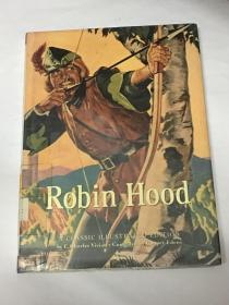 【英文原版】Robin Hood (A Classic Illustrated Edition) 罗宾汉传奇 (经典插图版)