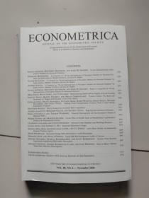 econometrica【vol.88. no.6】