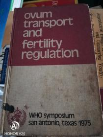 OVUM TRANSPORT AND FERTILITY REGULARION卵子转运和生育调节