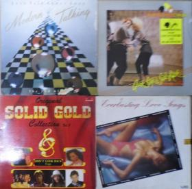 留声机專用 MODERN TALKING THOMPSON TWINS EVERLASTING LOVE SONGS SOLID GOLD 2  黑胶唱片4隻 港版