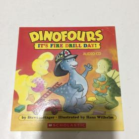 DINOFOURS IT`S FIRE DRILL DAY! AUDIO CD  儿童英语故事听力CD 版   1CD