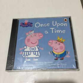 Peppa Pig Once Upon a Time Audio CD  英文儿童故事听力CD 版   1CD