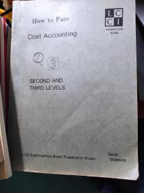 HOW TO PASS COST ACCOUNTING SECOND AND THIRD LEVELS