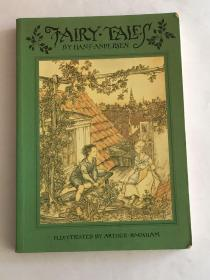 【英文原版】Fairy Tales by Hans Andersen 安徒生童话,Illustrated by Arthur Rackham 拉克姆插图