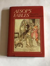 【英文原版】Aesop's Fables 伊索寓言 Illustrated by Arthur Rackham 拉克姆插图