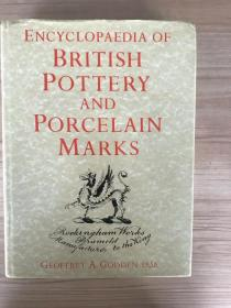 现货  Encyclopaedia Of British Pottery And Porcelain Marks