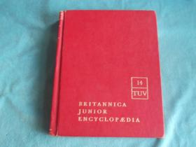 英文原版:BRITANNICA JUNIOR ENCYCLOPEDIA(大英百科全书) 14 TUV