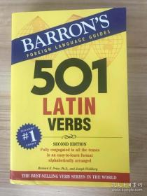现货 501 Latin Verbs (Barron's 501 Verbs) Second Edition