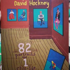 David Hockney: 82 Portraits and 1 Still-life 大卫·霍克尼:79肖像和两个静物