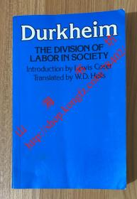 The Division of Labor in Society 社会分工论 9780029079607 0029079608