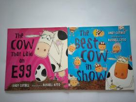 The Cow That Laid an Egg+THE BEST COW IN SHOW【2本合售】