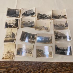 民國時期/上海天鈞樓等老照片16張