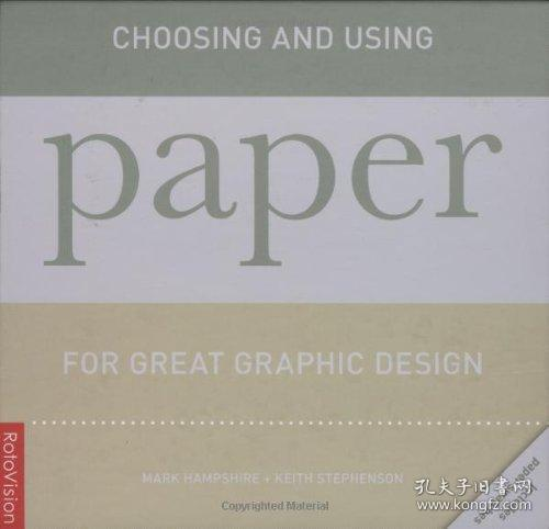 Choosing and Using Paper for Great Graphic Design