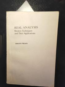 REAL ANALYSIS Modern Techniques and Their Applications (实分析《近代方法及其应用》) 英文版