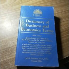 Dictionary of Business and Economics Terms