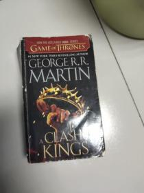 A Clash of Kings:A Song of Ice and Fire: Book Two【32开英文原版如图实物图】
