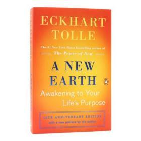 新世界:灵性的觉醒 艾克哈特·托勒 英文原版 Eckhart Tolle A New Earth: Awakening to Your Life's Purpose现在的力量续集