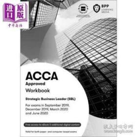二手正版 ACCA Approved Workbook Strategic Business Leader (SBL) Workbook 9781509723447