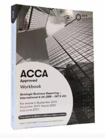 二手正版 ACCA  Approved Workbook Strategic Business Reporting - International UK 9781509723454