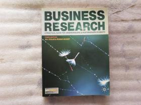Business Research:A Practical Guide for Undergraduate and Postgraduate Students【内有划线】