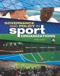体育组织的管理和政策  Governance And Policy In Sport Organizations
