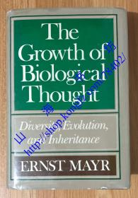 The Growth of Biological Thought: Diversity, Evolution, and Inheritance 生物学思想发展的历史 9780674364455 0674364457