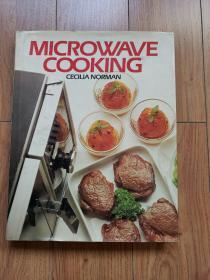 Microwave Cooking by Cecilia Norman(12开 精装 86年出版)