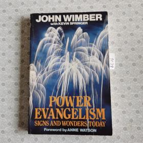 32开英文原版 Power Evangelism signs and wonders today