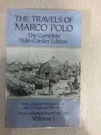 现货  The Travels of Marco Polo: The Complete Yule-Cordier Edition, Volume 1