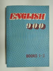 ENGLISH 900 BOOKS 1-3