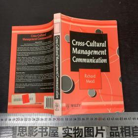 CROSS CULTURAL MANAGEMENT COMMUNICATION【外文书】