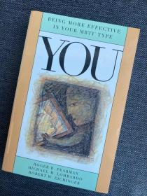现货 You: Being More Effective In Your Mbti Type