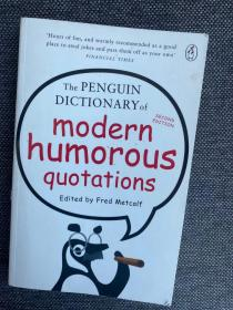 现货 The Penguin Dictionary of Modern Humorous Quotations