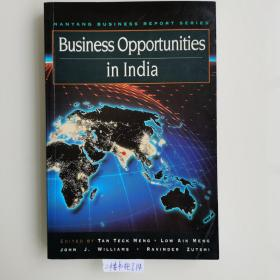 16开英文原版 Business opportunities in India