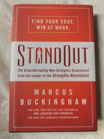 STANDOUT:The Groundbreaking New Strengths Assessment from the Leader of the Strengths Revolution【大32开精装+书衣】