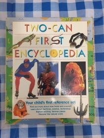 TWO-CAN FIRST ENCYCLOPEDIA(ALL ABOUT PEOPLE/HOW THINGS WORK/ANIMALS AND NATURE /A FIRST ATLAS) 英文原版精装百科全书 一函4本装