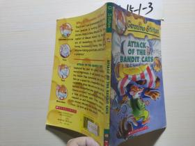 Geronimo Stilton #8: Attack of the Bandit Cats 老鼠记者系列#08:强盗猫的袭击