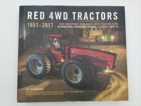 Red 4wd Tractors 1957 - 2017: High-Horsepower All-Wheel-Drive Tractors from International Harvester, Steiger