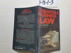 ESSENTIAL BUSINESS LAW  看图