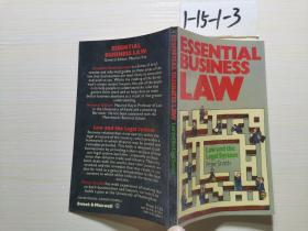 ESSENTIAL BUSINESS LAW