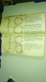清代風水地理手抄本《陰陽二宅總論》內有多種風水地理圖 含多個小內容 一厚冊全 詳情見圖