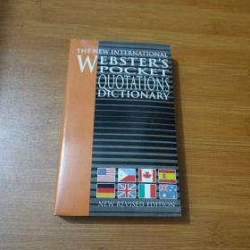 The New International Webster's pocket Quotations Dictionary