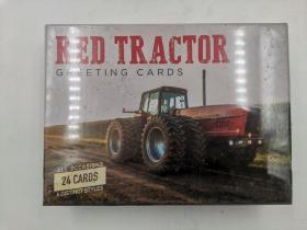 Red Tractor Greeting Cards: Cards for All Occasions - Six Different Cards