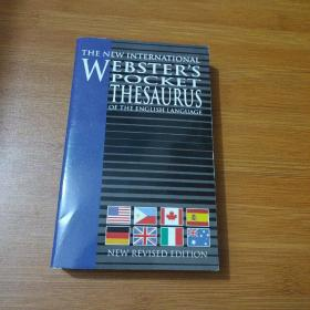 The New International Webster s Pocket thesaurus of the English language