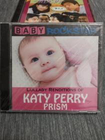 未拆 欧美 儿童 音乐 1碟 CD Baby Rockstar Lullaby Renditions of Katy Perry