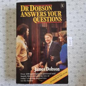 大32开英文原版 Dr. Dobson answers your questions