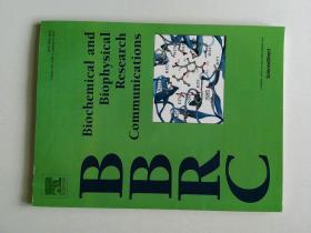 Biochemical and Biophysical Research Communications (BBRC JOURNAL) 2015/01/09  生物化学和生物物理研究交流学术期刊