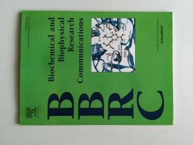 Biochemical and Biophysical Research Communications (BBRC JOURNAL) 2015/01/16  生物化学和生物物理研究交流学术期刊