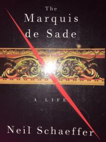 英文原版:The Marquis de Sade